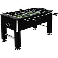 Football Table Steel 60 kg 140x74.5x87.5 cm Black - Vidaxl