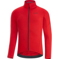 Gore Wear C3 Thermo Jersey - Red - L, Red